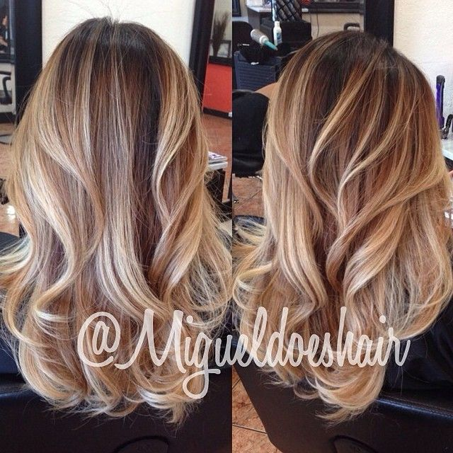 Balayage Hairstyle Pleasing 119 Best Hair Images On Pinterest  Hair Ideas Hairstyle Ideas And