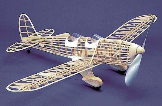 Ryan ST #104 Herr Balsa Wood Model Airplane Kit Rubber Powered
