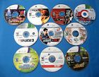 10 XBOX 360 GAMES-FIGHT NIGHT ROUND 3-TONY HAWK'S PROJECT 8-PGR 4-SKATE 3