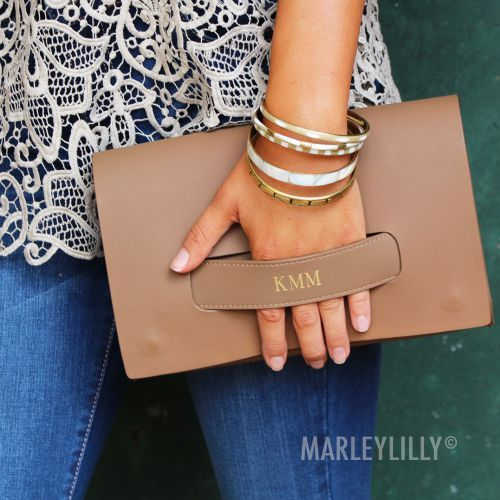 Monogrammed Clutch http://marleylilly.com/product/monogrammed-clutch/