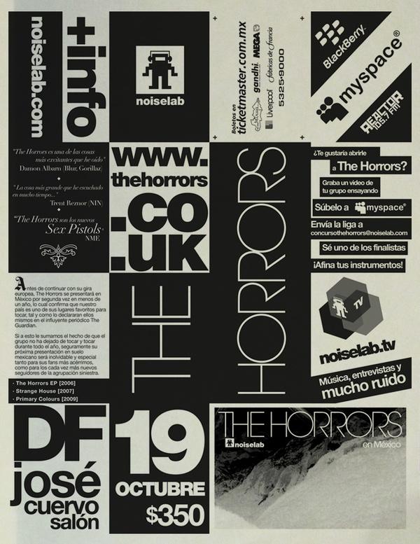 THE HORRORS | Designer: Daniel Castrejon