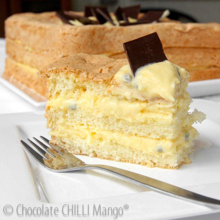 Passionfruit Cream Cake