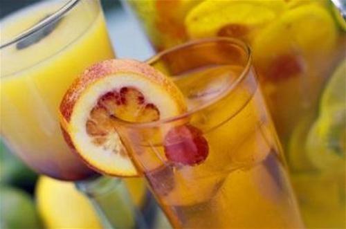 Cocktails aux fruits sans alcool