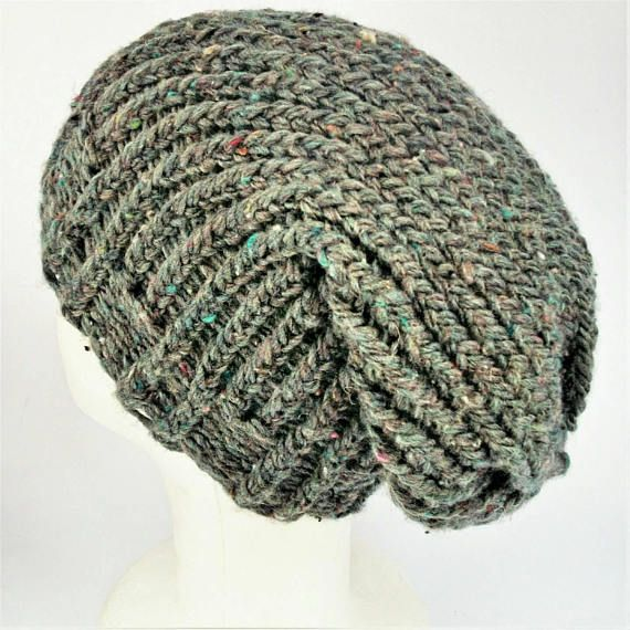 Check out this item in my Etsy shop https://www.etsy.com/uk/listing/562951303/grey-slouchy-hat-recycled-wool-hat