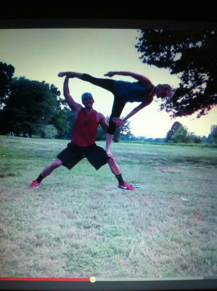 BFvsGF couple stunt