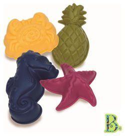 B. Toys Foremki do piasku - Konik Morski Zestaw dla Małego Plażowicza