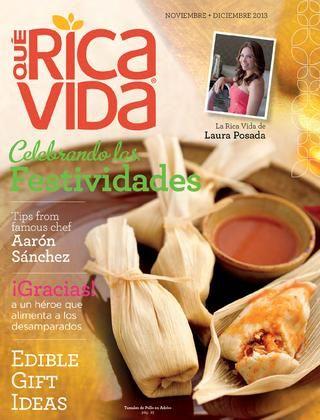 Qué Rica Vida Revista - Noviembre - Diciembre 2013