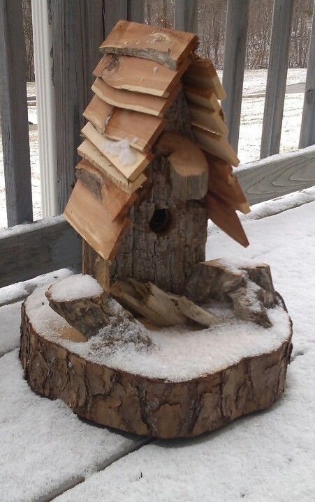 Rustic birdhouse                                                                                                                                                                                 More