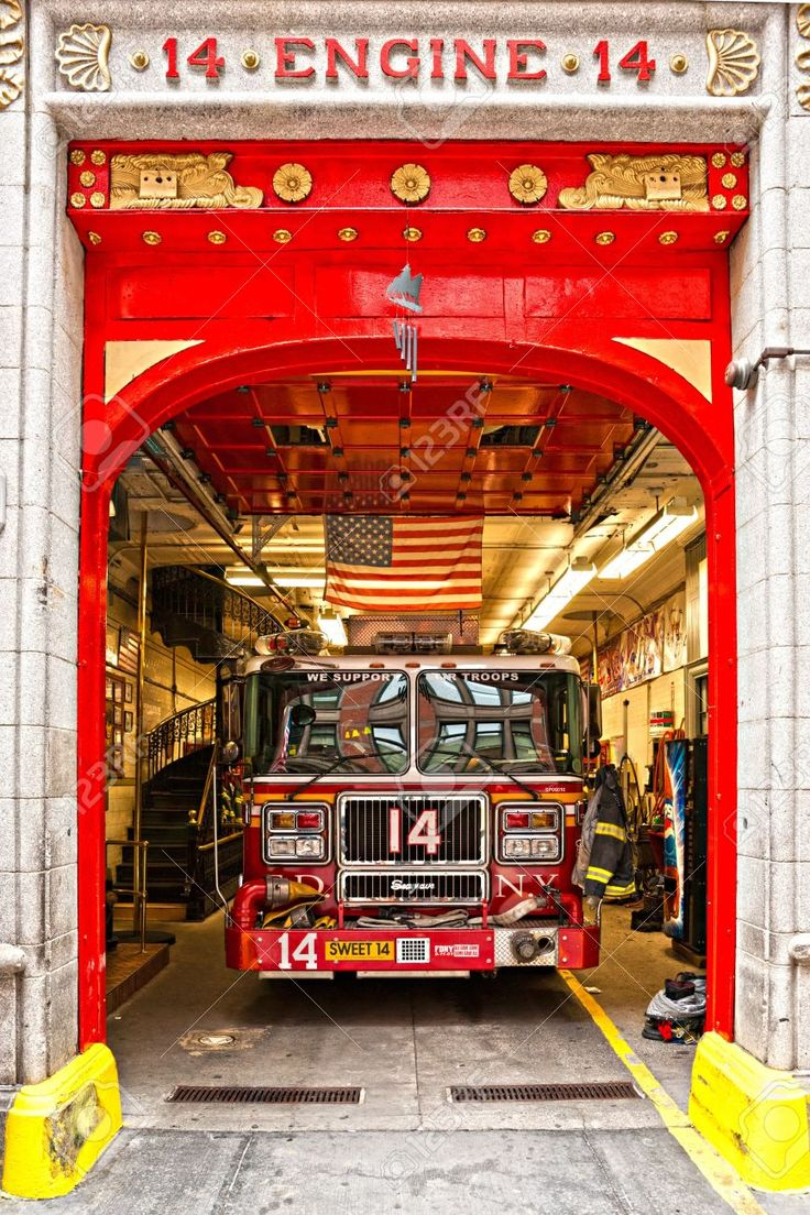 NEW YORK -MARCH 29  New York Fire Department Engine 14  The FDNY..