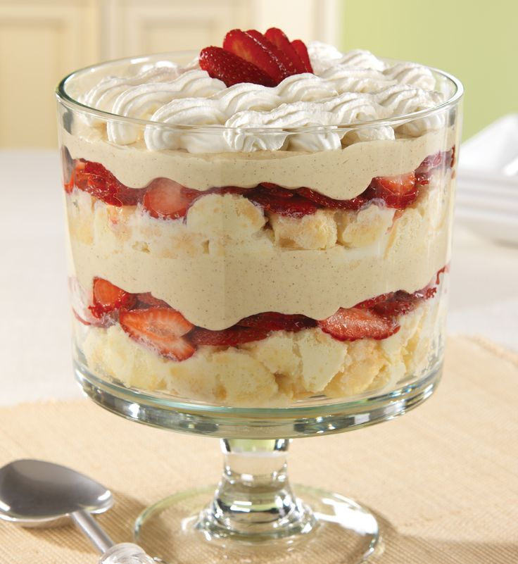 This Strawberry-Coconut Tres Leches Trifle recipe is a simple, layered version of a popular Mexican cake.