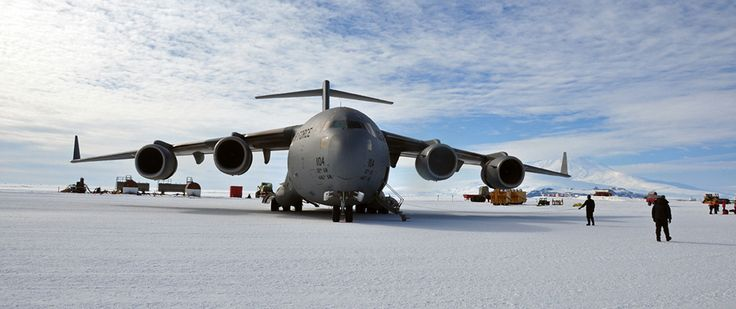 https://flic.kr/p/9X9ue5   100115_USAF_Deep Freeze  004   Photo by Staff Sgt. Robert Tingle  Team McChord Airmen conduct an Operation Deep Freeze mission at Pegasus Field, near McMurdo Station, Antarctica. Through Operation Deep Freeze, the Defense Department provides logistical support to research activities in Antarctica.   Located in the heart of the Pacific Northwest's Puget Sound region, Joint Base Lewis-McChord (JBLM) is the Defense Department's premiere military installation on the…
