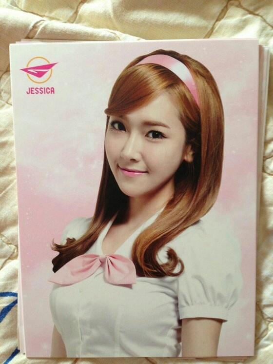 Jessica - 2013 World Tour photo cards