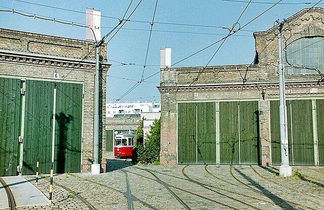 Tram Depot Erdberg