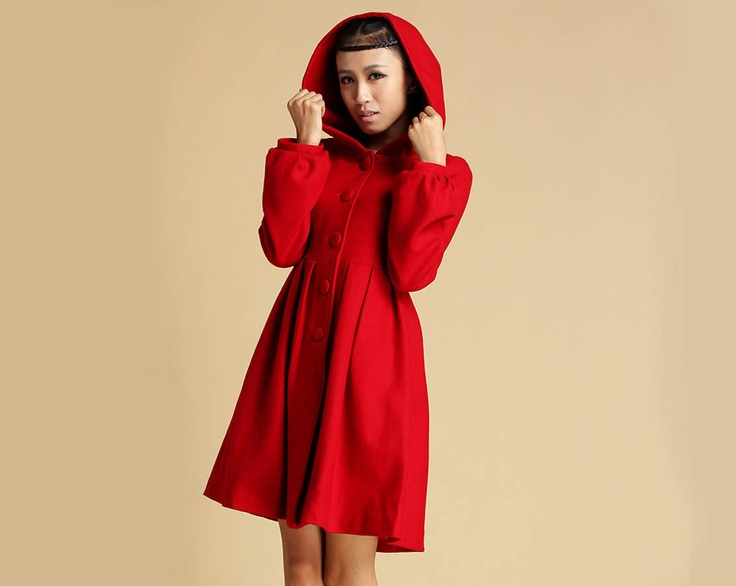 1000  ideas about Red Winter Coat on Pinterest   Sport chic