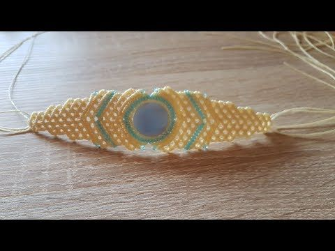 Macrame Bracelet - Custom Order - YouTube
