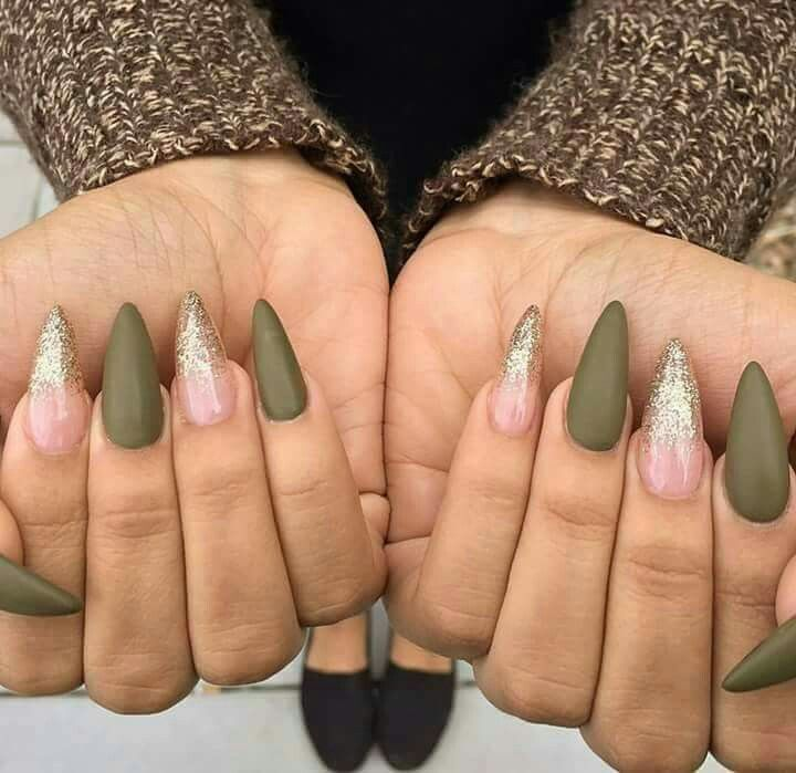 The 25+ best Matte olive green nails ideas on Pinterest ...