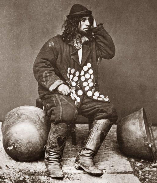 The Roving Roma:  A Kalderash man in Poland- 1865: Svenko