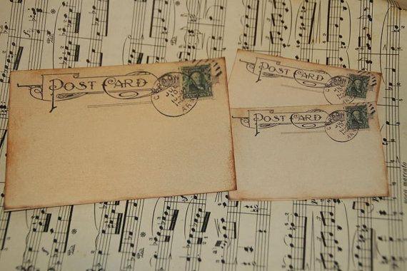 Wedding Guestbook Alternative  Vintage Post by GreenAcresCottage, $44.50