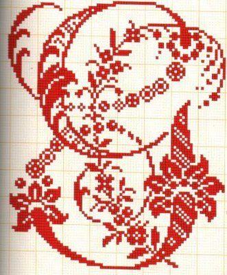Filomena Crochet e Outros Lavores: - Alfabetos#