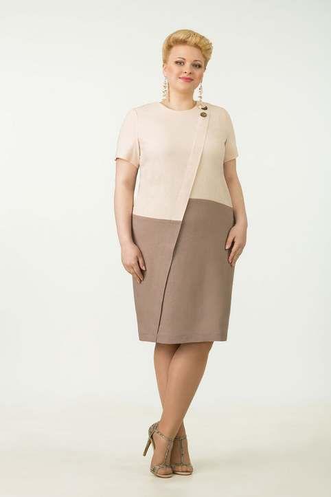 Вечерние и коктейльные платья для полных женщин белорусской компании Tetra Bell…