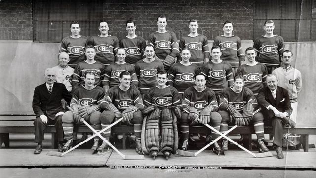 1946 Montreal Canadiens - Stanley Cup Champions