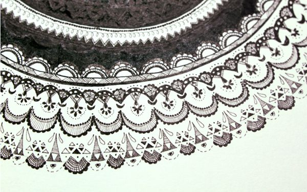Illustrated Lace on Behance
