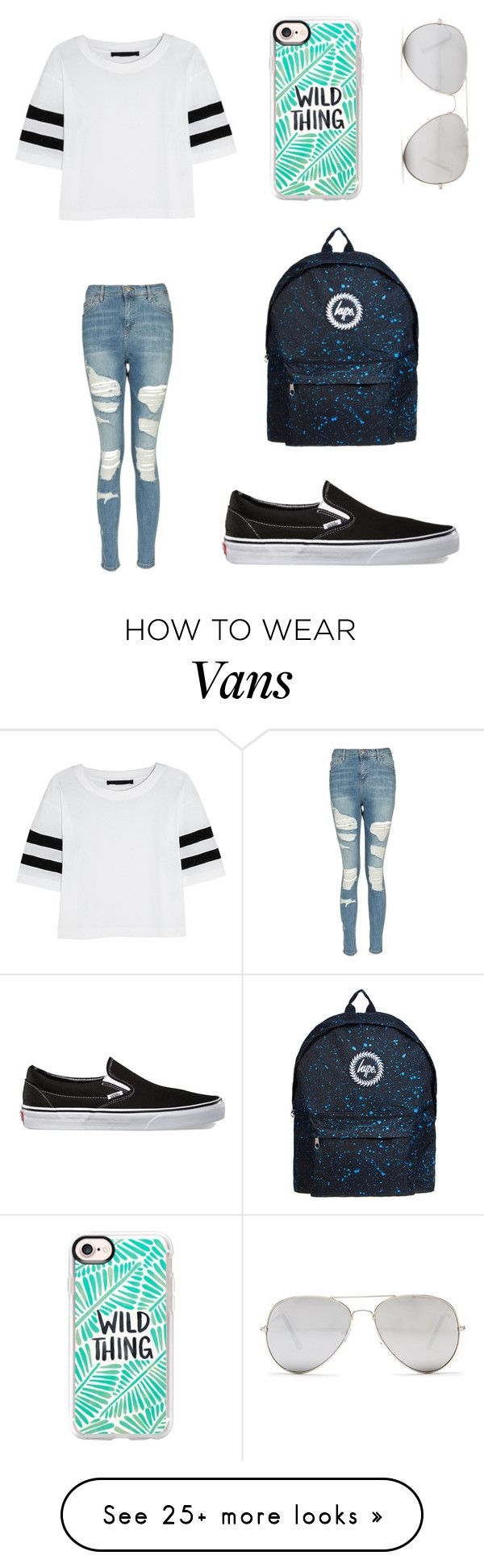 """""""Long To-Do list"""" by sarahfohlen on Polyvore featuring Casetify, Karl Lagerfeld, Sunny Rebel, Topshop, Vans, Spring and 2k17"""