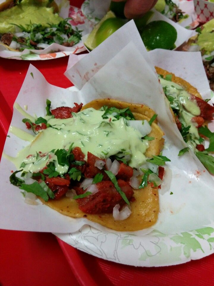 THE best adobada tacos ever!!