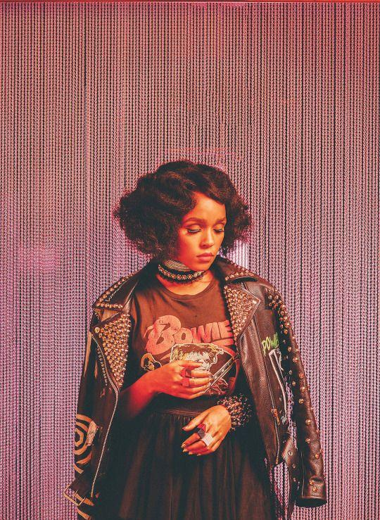 "Janelle Monae for ""Billboard"" Magazine"