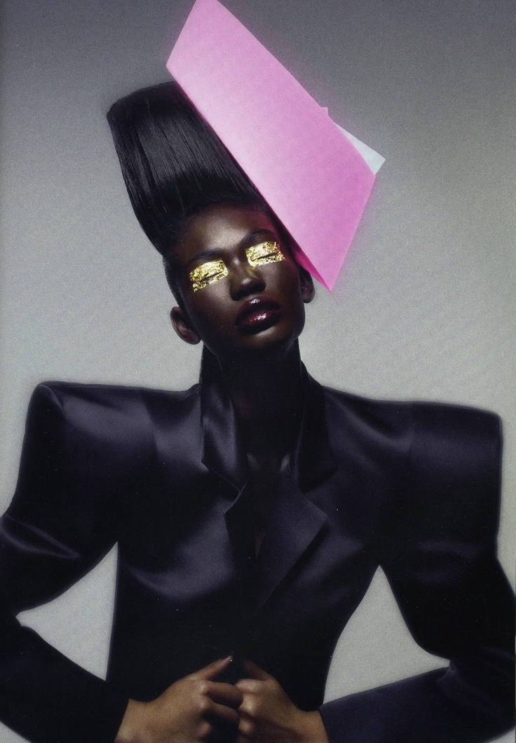Vogueitalia Blackmodelsissue Africanstyle Africanfashion Fashion Style Colour Editorial