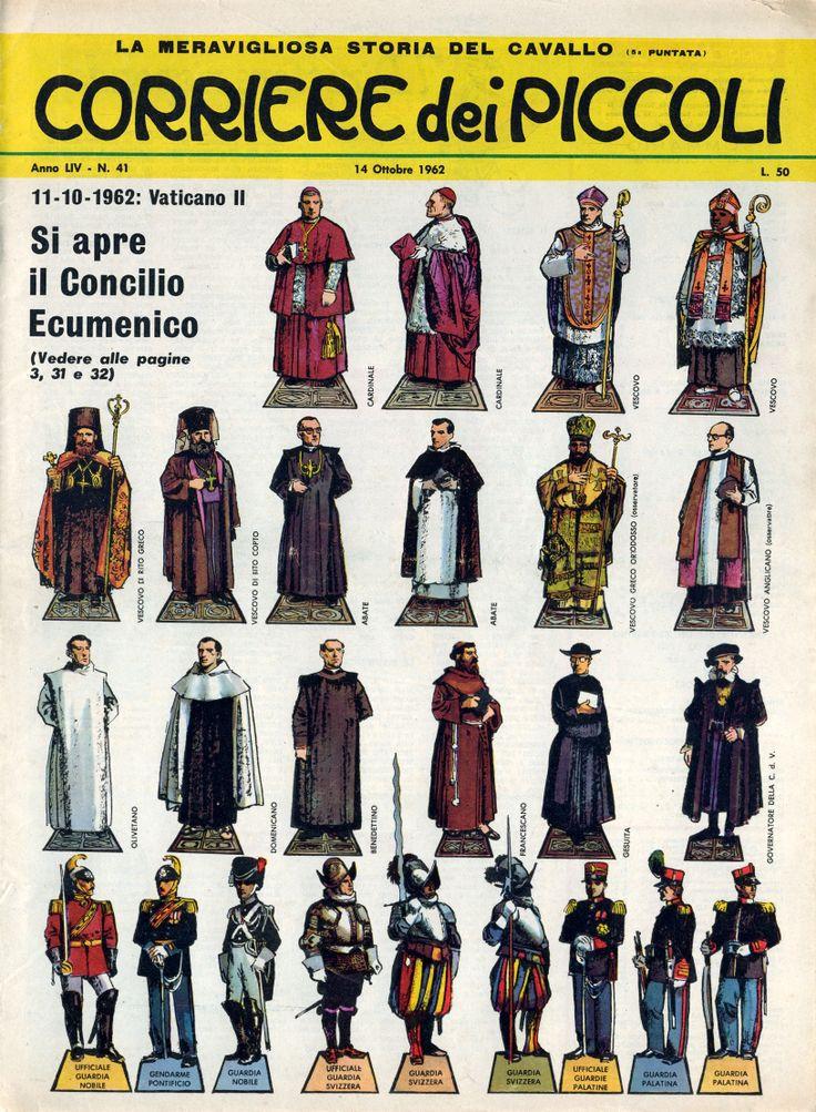 CdP 1962-41  Corrierino e Giornalino: Si apre il Concilio Ecumenico - Storia dei Concili