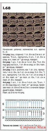 Теплый, осенний, длинный жилет - Вязание - Страна Мам