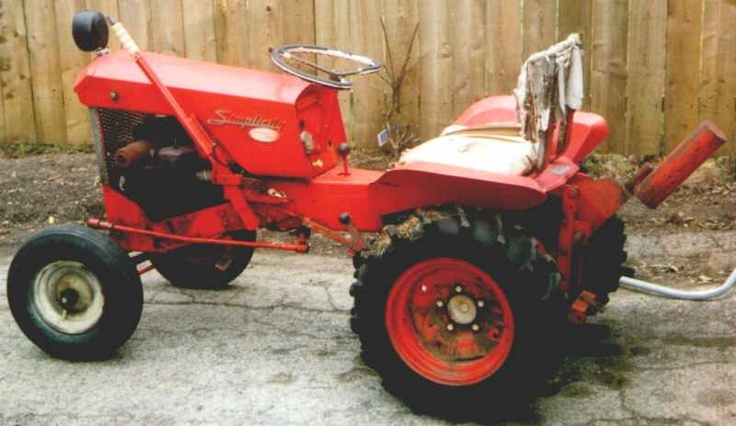 I Miss My 1958 Simplicity Wonderboy Tractor Dream Cars