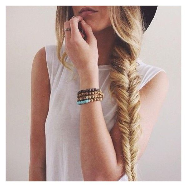 Girly and Chic Braids For Long Hair Ideas ❤ liked on Polyvore featuring accessories, hair accessories and long hair accessories
