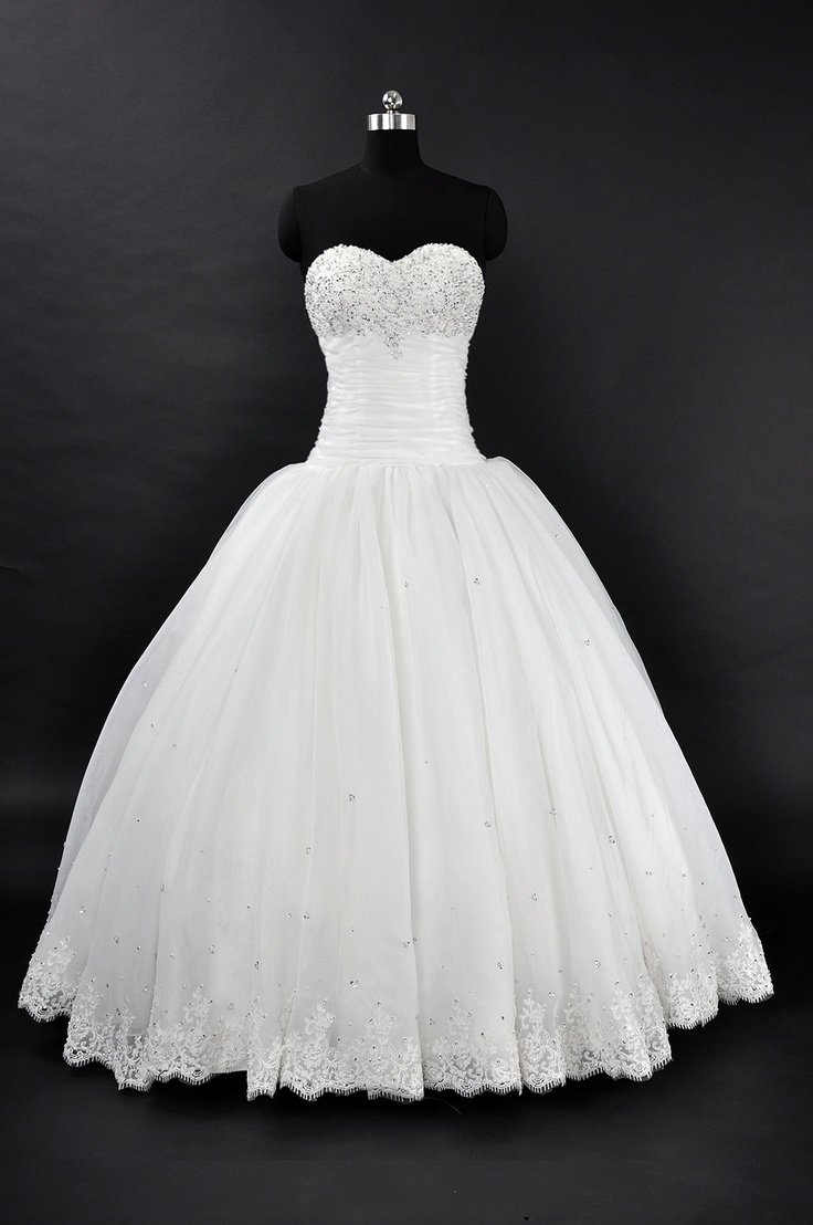 Cinderella style wedding dress vintage wedding dresses for Cinderella wedding dress up
