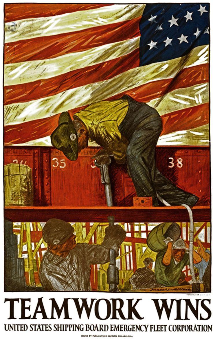 World War One - Teamwork Wins | WORLD WAR I Posters ...