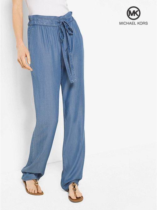 fbabbfbb75038 Resultado de imagen para pantalones en chambray para dama | PANTS ...