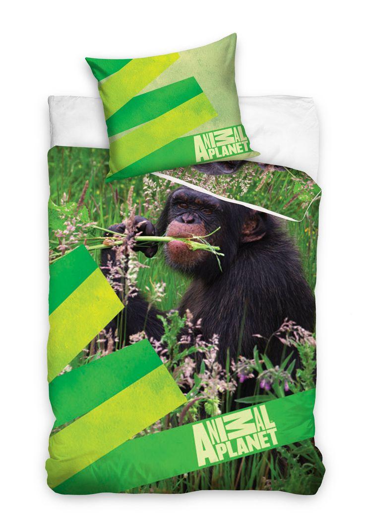 """Animal Planet """"Małpa"""" pościel 160x200"""