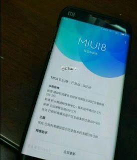 Kini ada Bocoran lagi yang Lebih Nyata dengan Menampilkan Xiaomi Mi Note 2 Menggunakan layar Edge