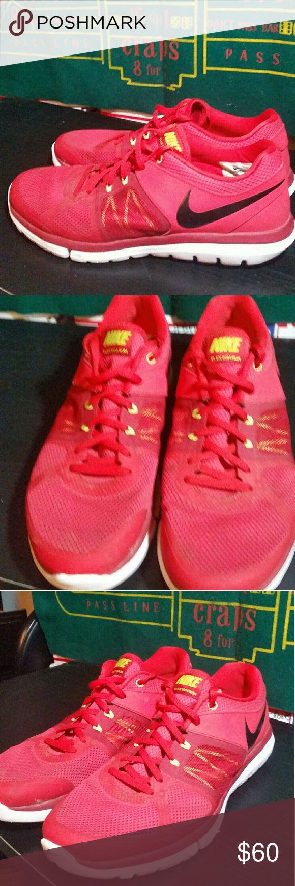 Nike Flex Run 2014 Tennis Shoe Sneakers Size 11 Nike Flex Run 2014 Tennis Shoe Sneakers Size 11 Nike id 642791-602 3/25/2014 Nike Flex Run Shoes Athletic Shoes