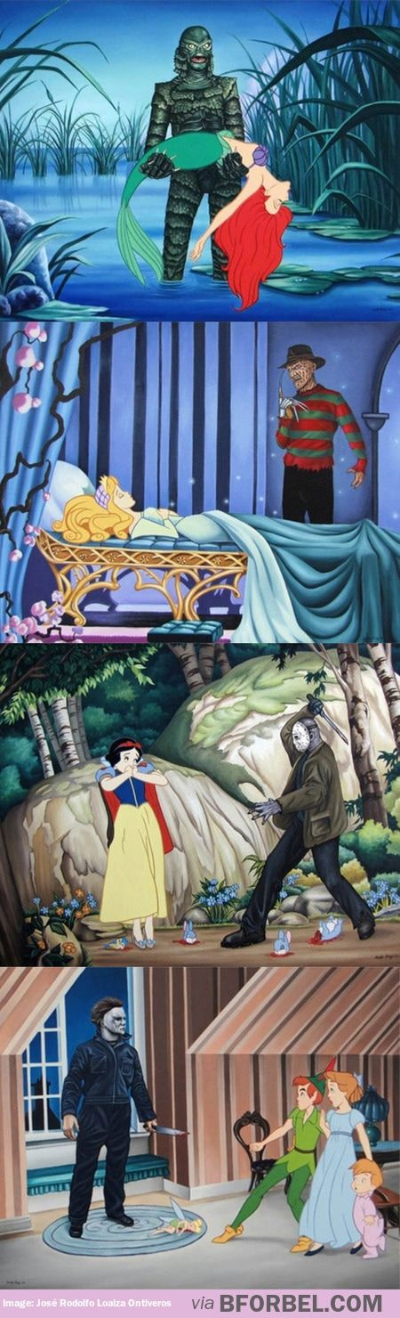 When fairy tales meets horror