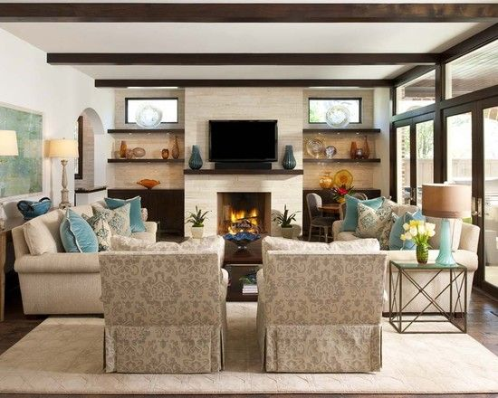 contemporary family room design idea by ellen grasso sons llc decor