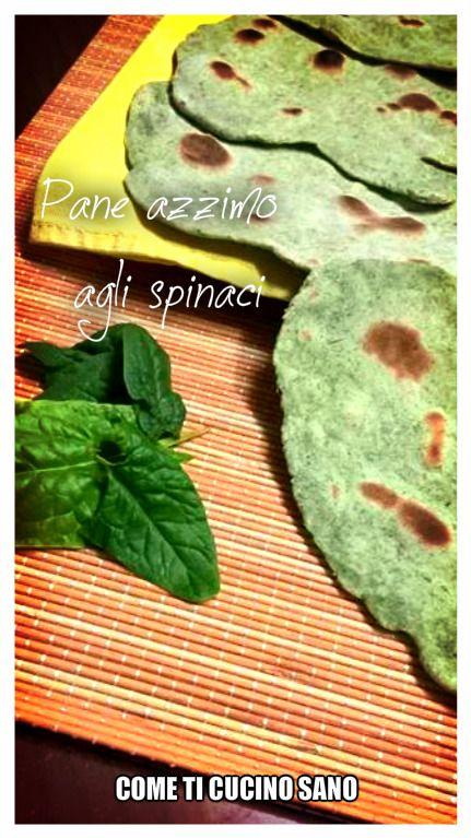 Pane+azzimo+agli+spinaci.+Digeribilità,+colore+e+leggerezza.+Come+far+mangiare+le+verdure+a+tutti.