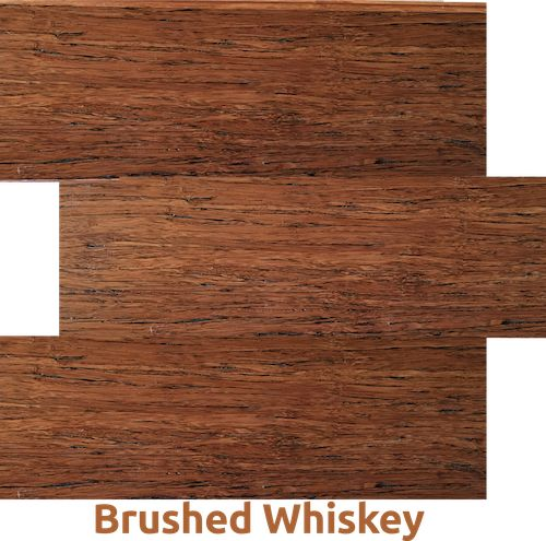 Brushed Whisky - one of our ECO Bamboo Flooring   ELF
