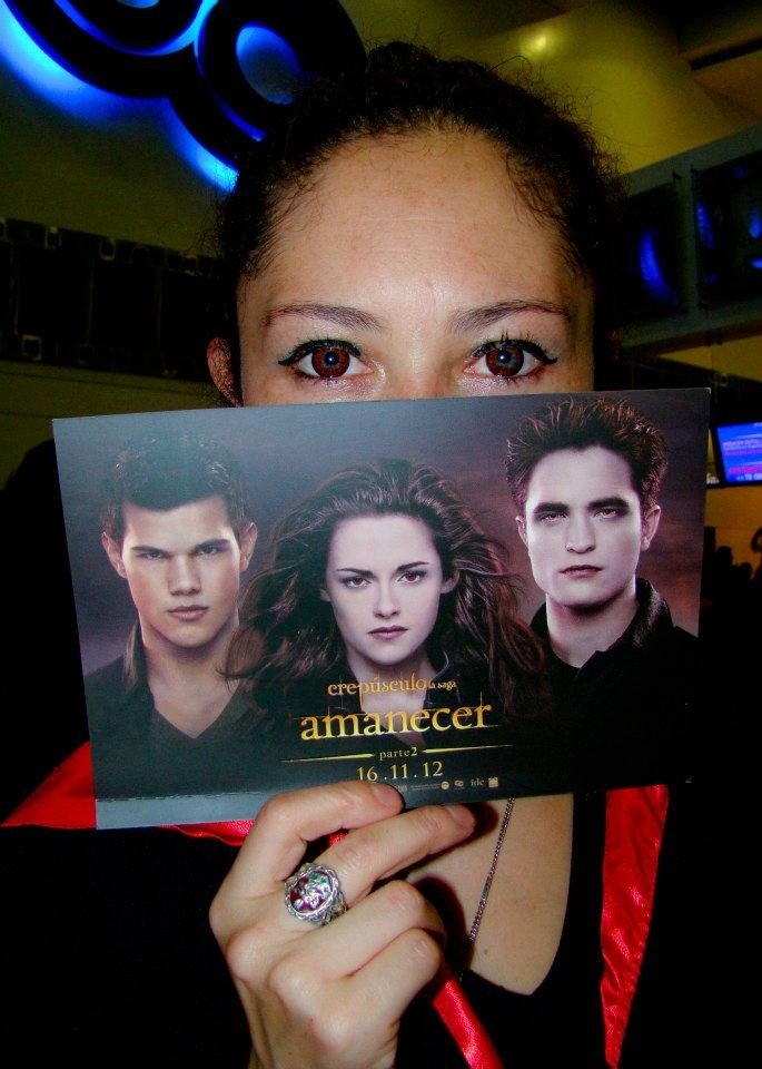 Premiere 'Amanecer Parte 2' | 'Breaking Dawn Part 2' Noviembre 15 de 2012.