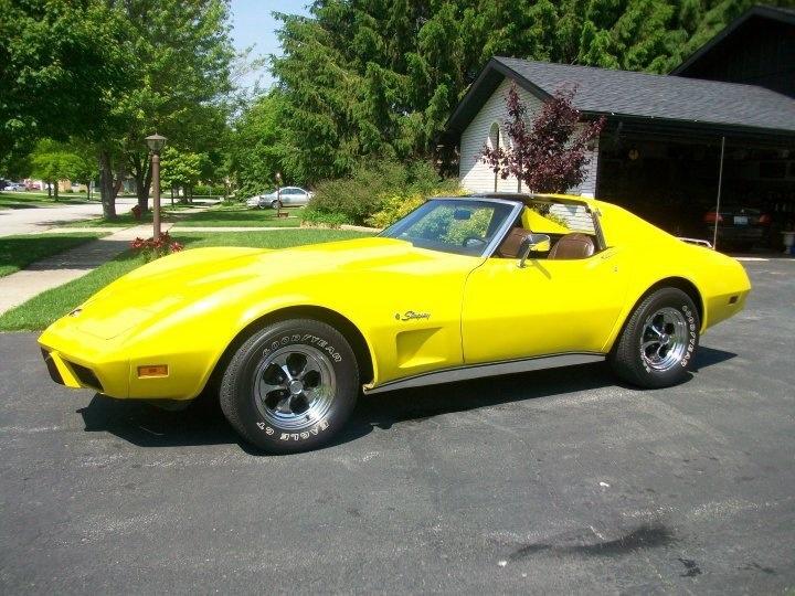 1976 Corvette, my old car....ahhhhhh