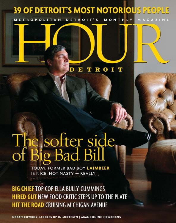 Bill Laimbeer on May 2004 Hour Detroit cover.