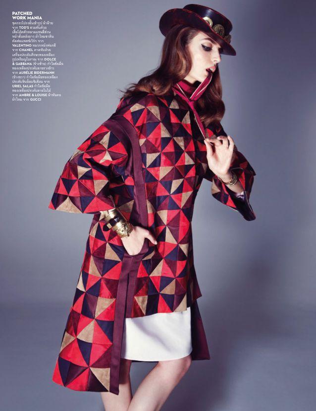 Vogue Thailand June 2014   Zuzanna Bijoch by Marcin Tyszka