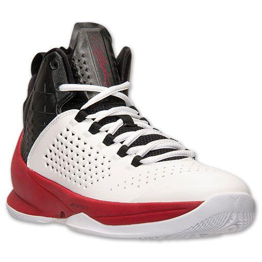 Men's Jordan Melo M11 Basketball Shoes | Finish Line | White/Black/Gym Red