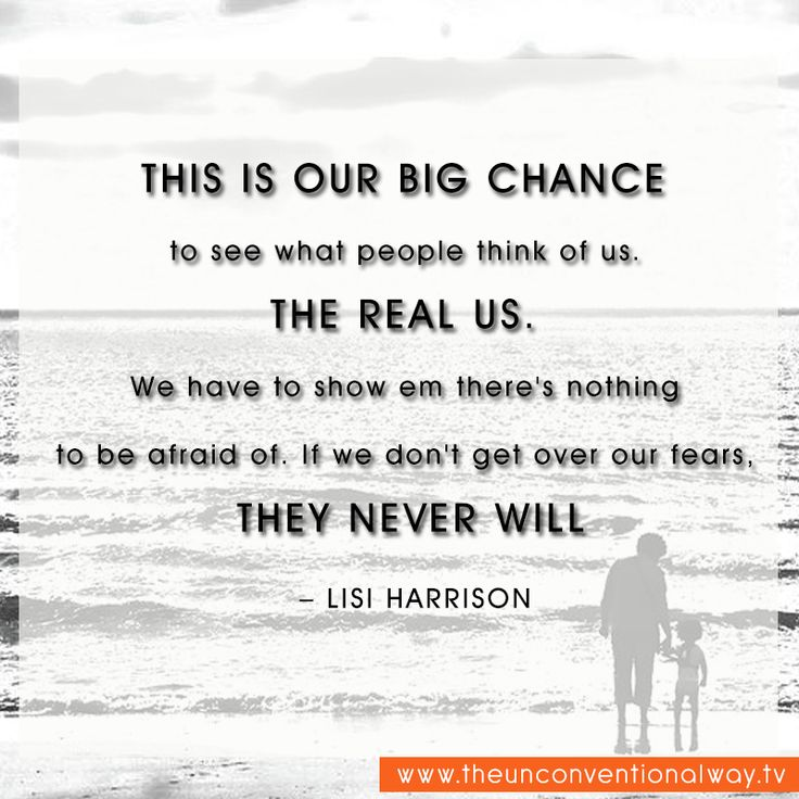 """""""This is our big chance to see what people think of us."""""""